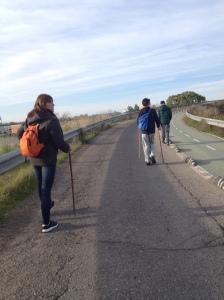 Saliendo de Sevilla dirección Camas